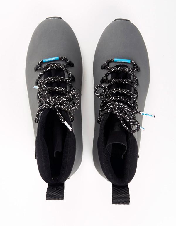Native Shoes Native AP Apex Dublin Grey Shell White Jiffy Black