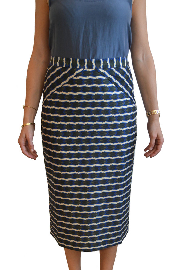 Lauren Moffatt - Blue Arrow Skirt