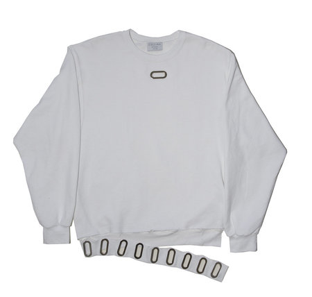 Collina Strada Sweatcrew - White