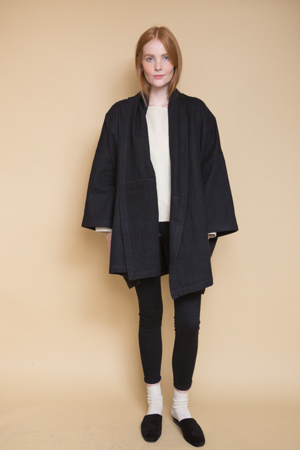 Atelier Delphine Antwerp Coat / Black