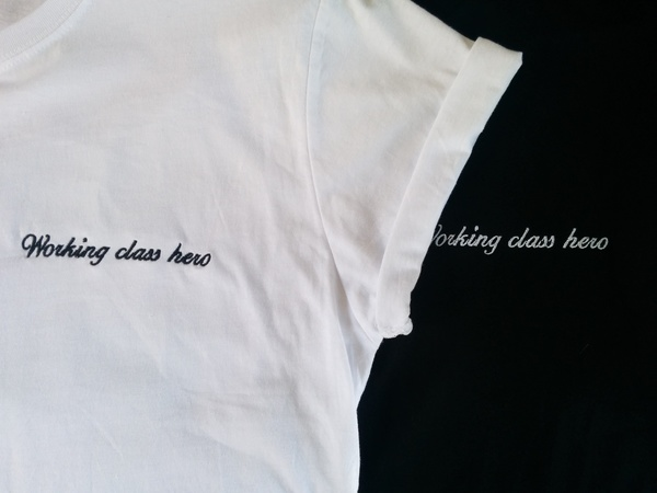 Vender Working Class Hero T shirt