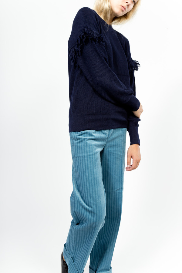 Trademark Fringe Sweater