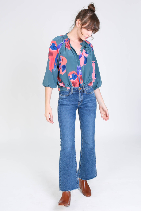 Tracy Reese Classic blouse in hisham sunset