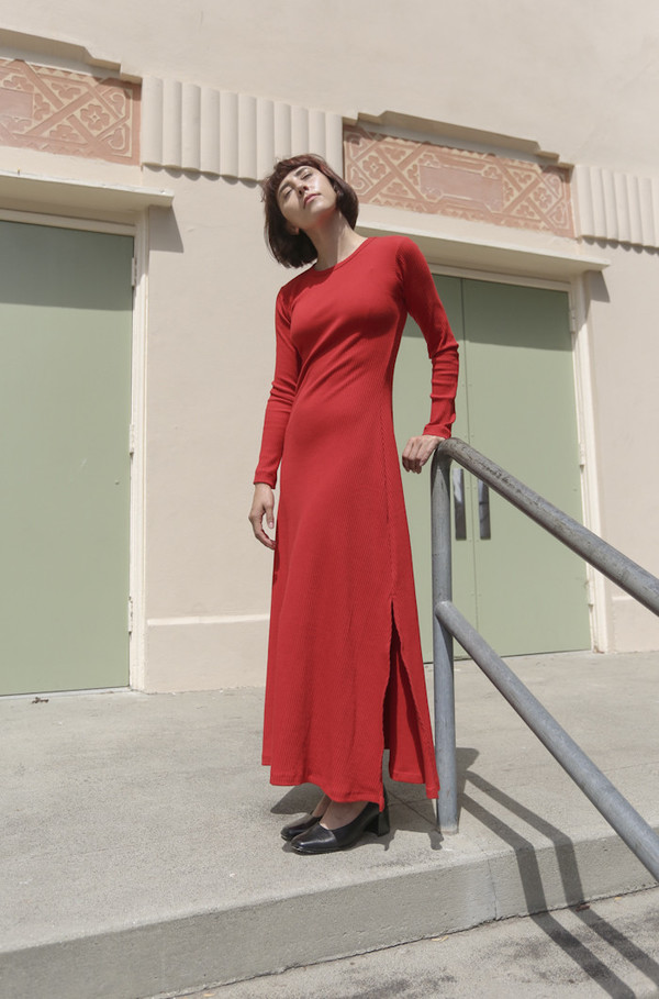Delfina Balda Nova Dress in Red