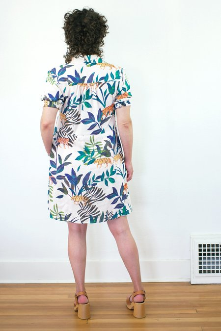 Corey Lynn Calter Leila Dress - Tiger Print