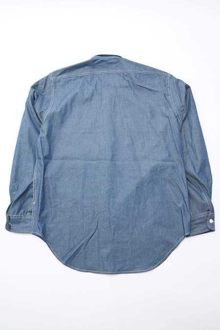 Engineered Garments Lightweight Denim Workaday Utility Shirt - Navy