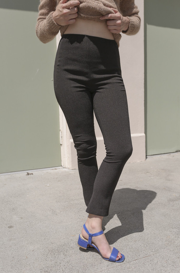 A Détacher Patches Legging in Onyx