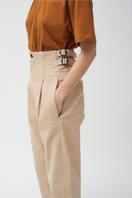 Colovos Buckle Jean - Natural