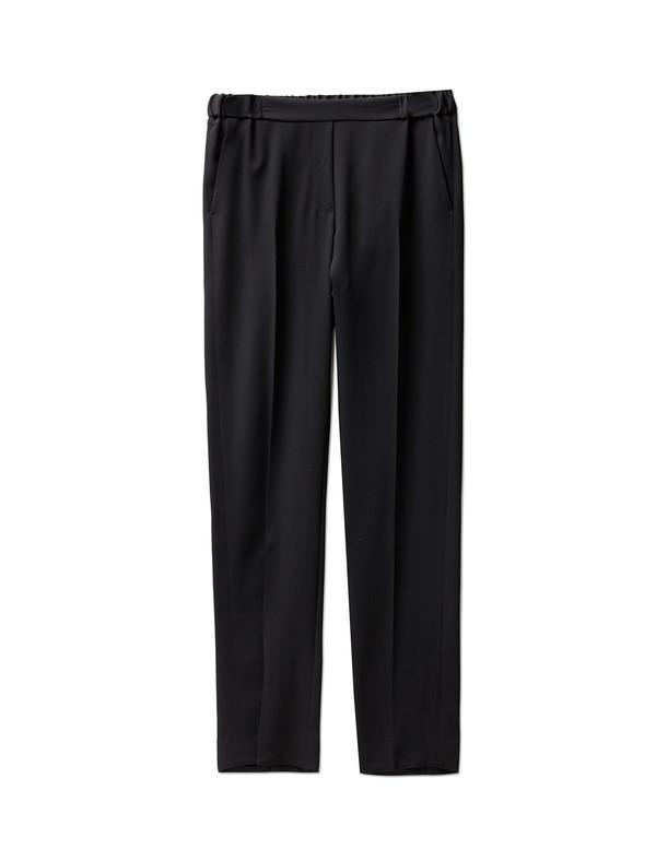 MM6 by Maison Margiela Womens Fluid Classic Trousers Black