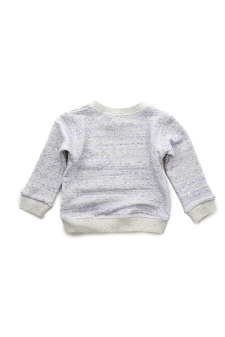 Kids  Blue&Cream Sweatshirt - Lavender