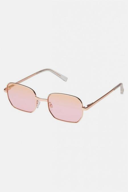 Le Specs The Flash Sunglasses - Bright Gold