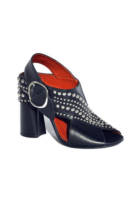 3.1 Phillip Lim Patsy Studded Sandal Shoes - Black