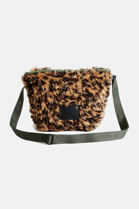 R13 Mini Messenger Bag - Leopard