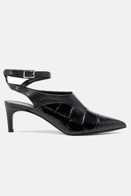3.1 Phillip Lim Nina Vamp Heels Shoes - Black