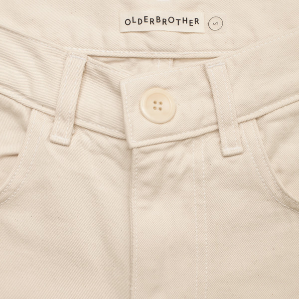 Olderbrother Patched Denim Five Pocket - Natural