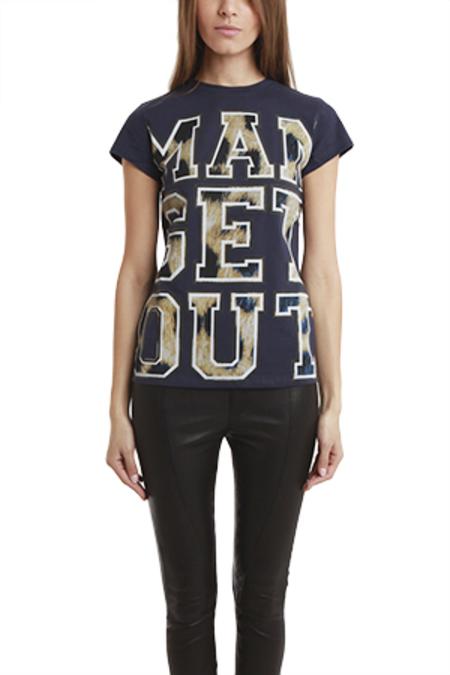 Être Cécile Man Get Out T-Shirt - Navy