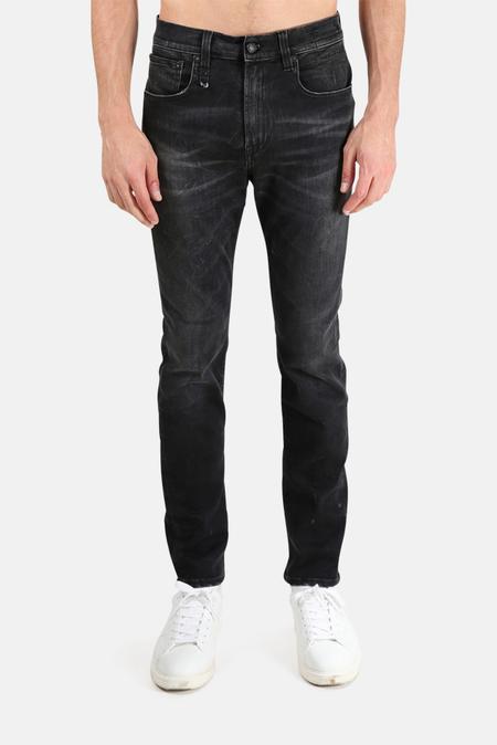 R13 Skate Jeans - Black Marble
