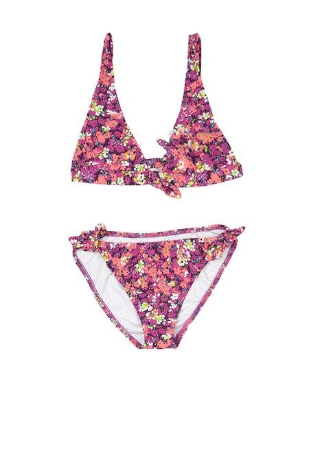 kids Shoshanna Bow Halter Bikini - Daisy Garden