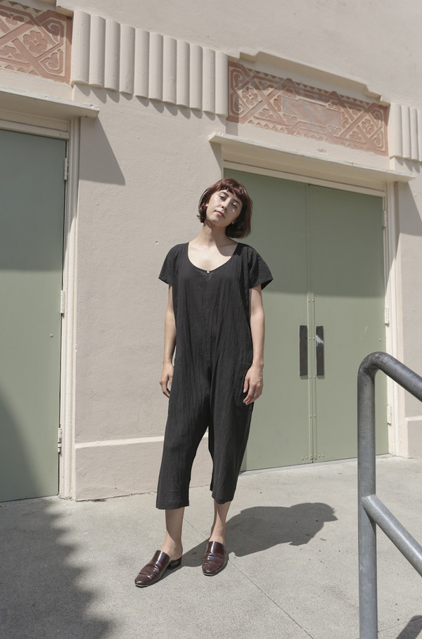 Botanica Workshop Elyria Jumpsuit in Black