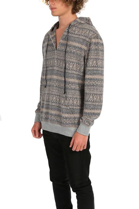 Blue&Cream 1/4 Zip Hoodie Sweater - Pink Brady