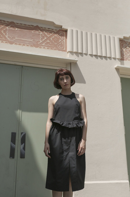 Toit Volant Monet Dress in Black