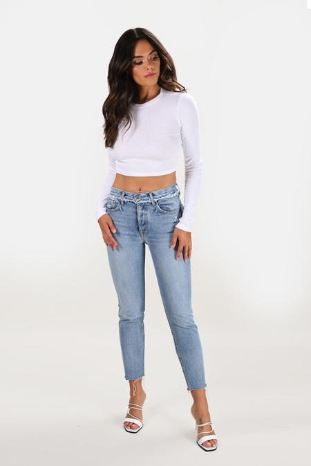 GRLFRND Karolina High Rise Jeans - Part Time Love