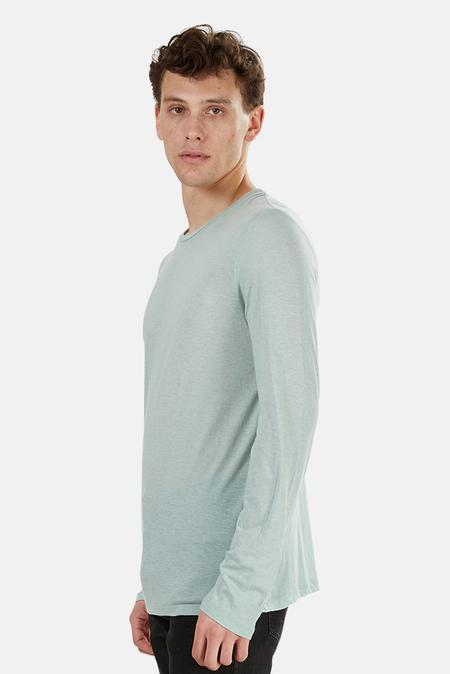Blue&Cream 66 LS T-Shirt - Heather Mint
