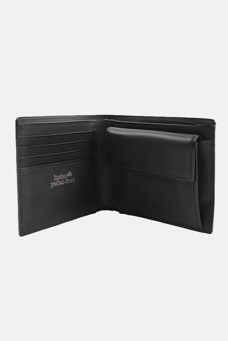 Lucien Pellat-Finet Leather Blended Wallet - Grey/Black