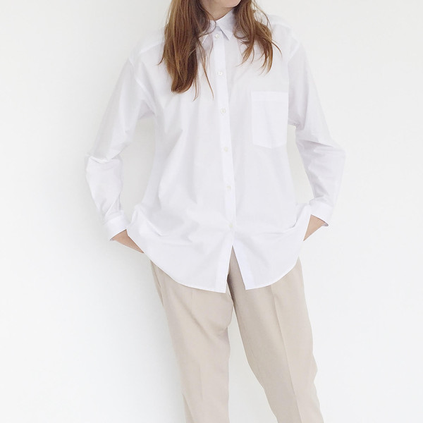 Sherie Muijs Shirt No. 18 - Chalk