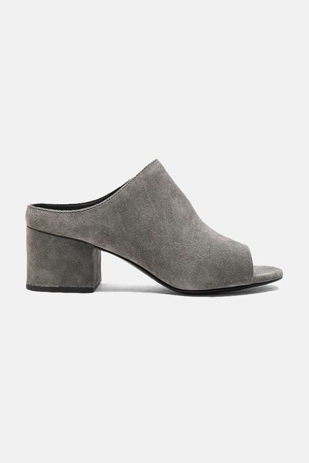 3.1 Phillip Lim Cube Open Toe Slip On Shoes - Stone