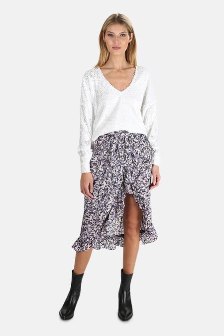 IRO Palmer Skirt - Purple