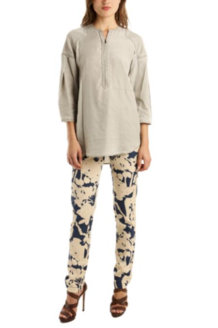 3.1 Phillip Lim Henley Shirt - Stone