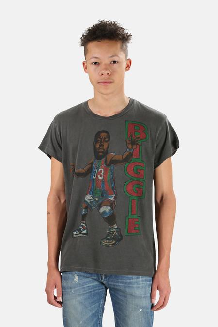 MadeWorn Rock Notorious B.I.G. Graphic T-Shirt - Dirty Black