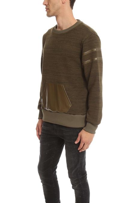 Onestroke Ones Stroke Fleece Pullover Sweater - Khaki