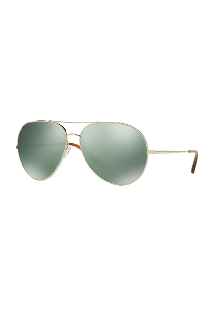 Oliver Peoples Sayer Gold G-15 - Gold/Green