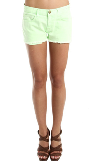 Current Elliott Current/Elliott The Boyfriend Short - Lime Green