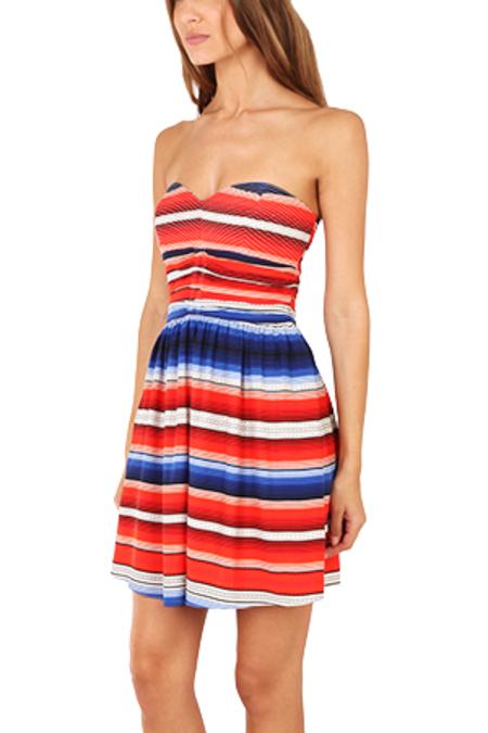 Parker Melrose Dress - Santa Fe