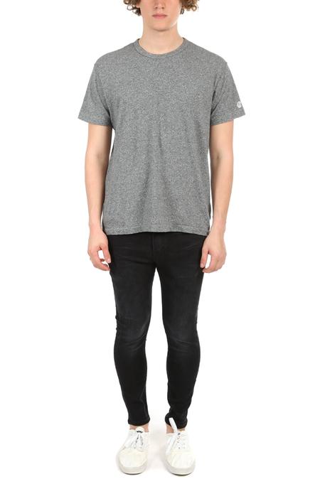 R13 Drop Crotch Skinny Pants - Black