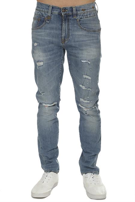R13 Boy Jeans - Jasper Stretch With Rips