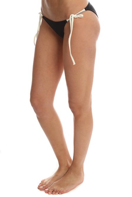 Solid & Striped Sophie Bikini Bottom Swimwear - Black