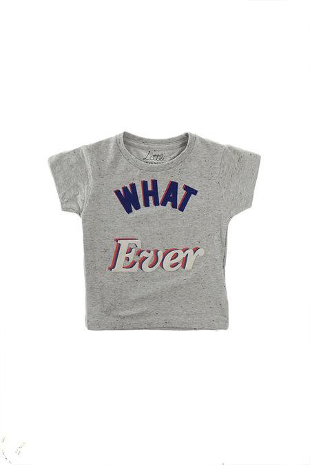 Kids Little Eleven Paris Quotes SS T-Shirt - Grey