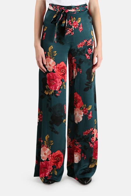 MISA Los Angeles Aliya Pants - Green Floral