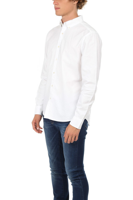 FRAME Denim Classic Fit Button Down - Blanc