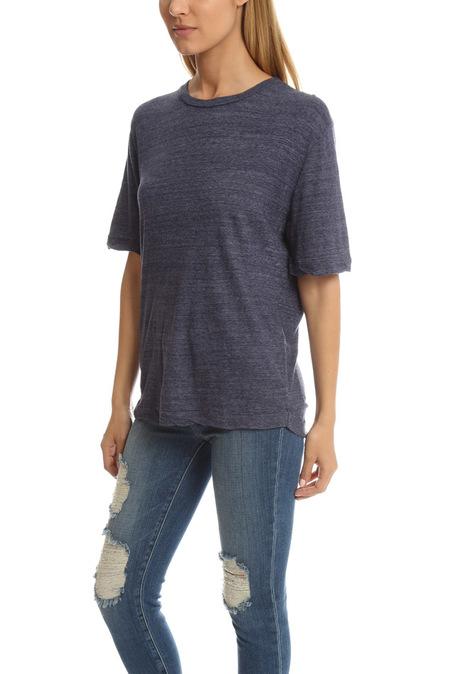 V::Room Highsoft Jersey Crewneck T-Shirt - Melange Denim