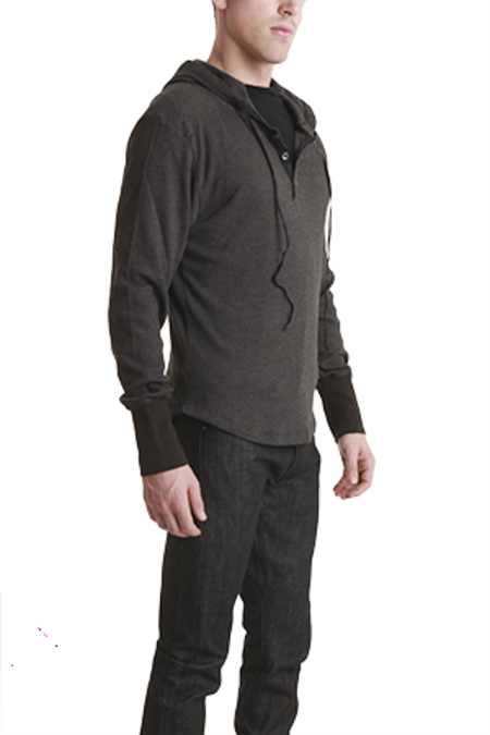 Field Scout Thermal Hoody Sweater - Black Fade