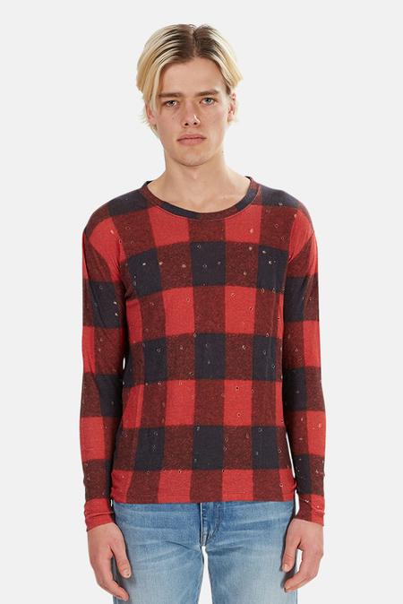 IRO Marvina Buffalo Check T-Shirt - Buffalo Check