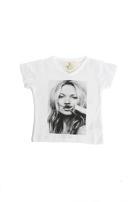 UNISEX Eleven Paris Cara Delevigne V Neck Classic T-Shirt - White