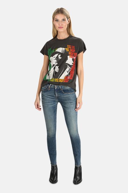 MadeWorn Rock Snoop Dogg T-Shirt - Dirty Black