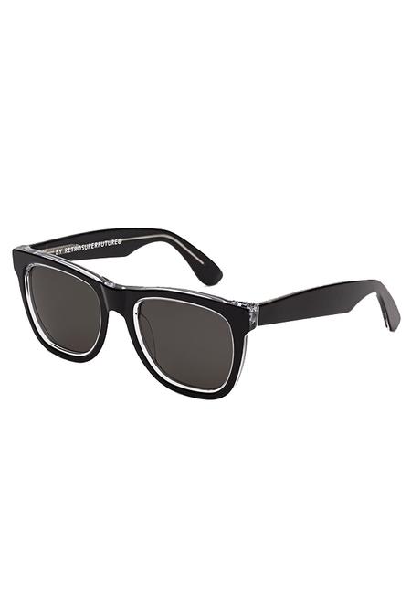RETROSUPERFUTURE Classic Achromatic Sunglasses - Black
