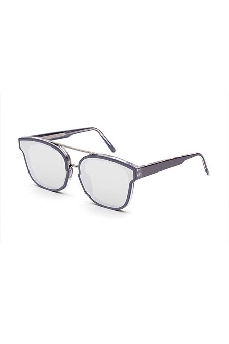RetroSuperFuture Akin Forma Sunglasses - Silver